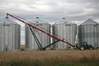 Crop storage in Saskatchewan